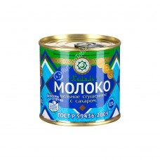 "Whole condensed milk with sugar ""Molochnaya strana"" Halal 320g"