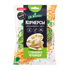 "Wholegrain Chips ""Dr. Korner"" with Peas and Lentils 50g"