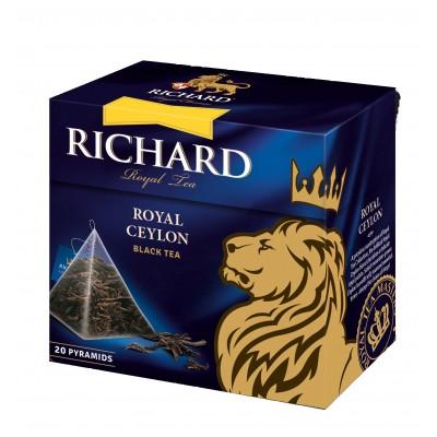 "Black Tea ""Richard"" Royal Ceylon (20 count)"