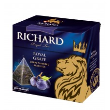 "Black Tea ""Richard"" Royal Grape (20 count)"