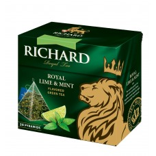 "Green Flavored Tea ""Richard"" Royal Lime & Mint (20 count)"