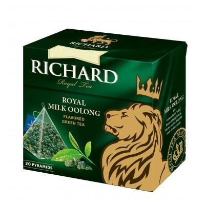 "Green tea ""Richard"" Royal Milk Oolong (20 count)"