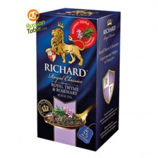 "Black tea ""Richard"" Royal Thyme and Rosemary (25 count)"