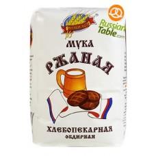 """Rye flour """"Russian Field"""" 1kg"""