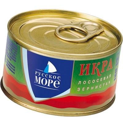 "Salmon caviar ""Russkoe More"" 140g"