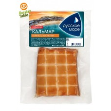 """Squid Fillet Hot Smoked """"Russkoe More"""" 180g"""
